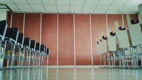 Pavimento dell'aula sul mezzo Immagine Stock
