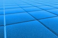 pavimento dell'azzurro 3D Fotografie Stock Libere da Diritti
