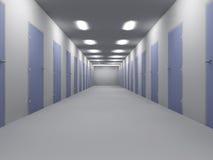 Pavimento dell'ufficio Fotografia Stock Libera da Diritti
