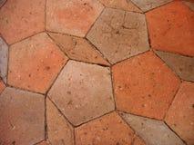pavimento della chiesa vecchio Immagini Stock