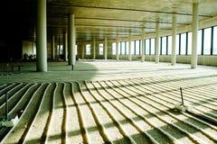 Pavimento della costruzione pronto per calcestruzzo pooring Fotografia Stock
