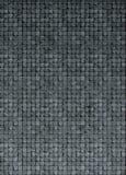 pavimento della parete del mosaico 3d nella pietra grigia di lerciume di gradiente Immagine Stock