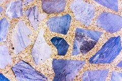Pavimento della roccia Fotografie Stock