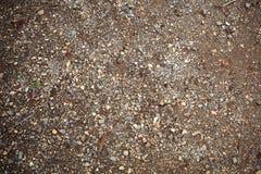 Pavimento della sporcizia fotografia stock