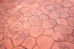 Pavimento di camminata Immagini Stock
