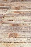 Pavimento di legno al sole Immagini Stock Libere da Diritti