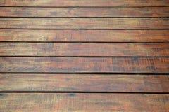 Pavimento di legno antico Immagini Stock Libere da Diritti