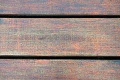 Pavimento di legno antico Fotografia Stock