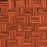 Pavimento di legno Checkered illustrazione vettoriale