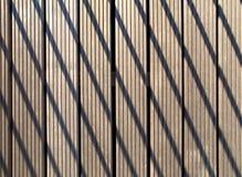 Pavimento di legno del reticolo Immagini Stock Libere da Diritti