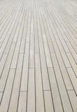 Pavimento di legno della plancia Immagini Stock Libere da Diritti