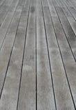 Pavimento di legno della stecca Immagine Stock