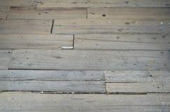Pavimento di legno della stecca Fotografie Stock Libere da Diritti
