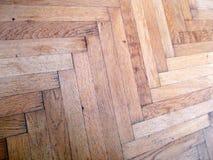 Pavimento di legno di Brown Fotografie Stock