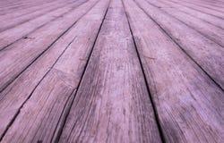 Pavimento di legno di pino Fotografie Stock