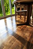 Pavimento di legno duro Fotografia Stock