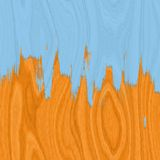 Pavimento di legno duro e vernice blu Immagine Stock Libera da Diritti