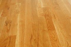 Pavimento di legno duro lucidato fotografia stock libera da diritti