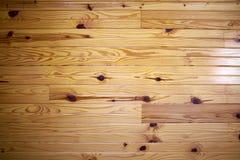 Pavimento di legno duro verniciato con grano distintivo immagini stock libere da diritti