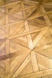 Pavimento di legno modellato fotografia stock