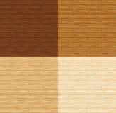 Pavimento di legno senza giunte Fotografie Stock