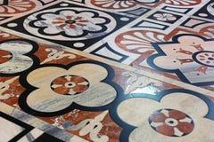 Pavimento di marmo della chiesa Fotografie Stock Libere da Diritti