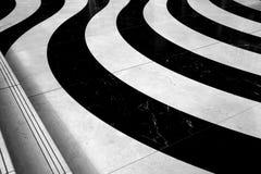 Pavimento di marmo ondulato Fotografia Stock