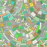 pavimento di mosaico illustrazione di stock