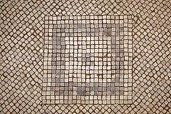 Pavimento di mosaico Fotografie Stock Libere da Diritti