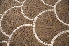 Pavimento di mosaico Immagini Stock Libere da Diritti
