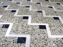 Pavimento di mosaico Immagini Stock