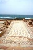 Pavimento di mosaico antico Fotografia Stock