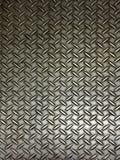 Pavimento di piastra metallica realistico Fotografia Stock Libera da Diritti