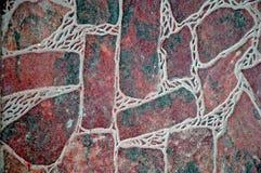Pavimento di pietra del Faux Fotografia Stock Libera da Diritti