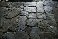 Pavimento di pietra irregolare fotografia stock libera da diritti