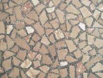 Pavimento di pietra lucidato Fotografia Stock Libera da Diritti