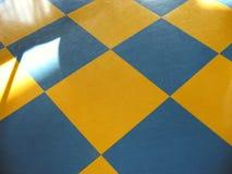 Pavimento di scacchi Fotografie Stock