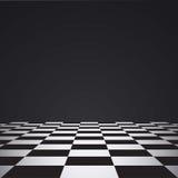 Pavimento di scacchi Fotografia Stock