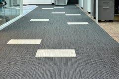 Pavimento di tappeto fotografie stock libere da diritti