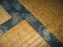 Pavimento di Tatami - particolare immagini stock