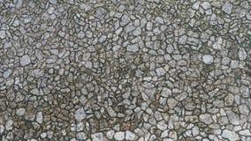 Pavimento do bloco na textura do por do sol Imagens de Stock