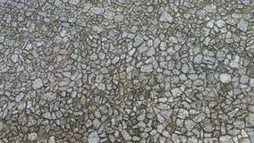 Pavimento do bloco na textura do por do sol Imagem de Stock