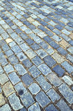 Pavimento do Cobblestone Foto de Stock Royalty Free