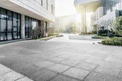 Pavimento do quadrado de cidade Foto de Stock Royalty Free