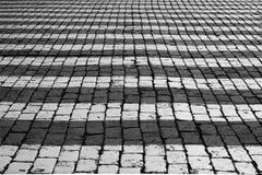 Pavimento do quadrado vermelho. Imagem de Stock Royalty Free