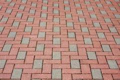 Pavimento do tijolo Imagem de Stock
