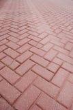 Pavimento do tijolo fotos de stock royalty free