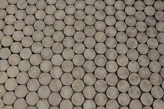 Pavimento dos blocos de madeira Imagens de Stock Royalty Free