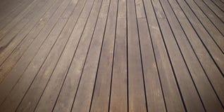 Pavimento e fondo di legno astratti Fotografia Stock Libera da Diritti