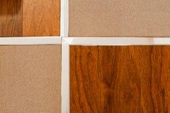Pavimento e mattonelle di legno immagine stock libera da diritti